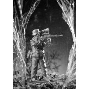 Немецкий солдат с прибором ночного видения, 1945 г 157 РТ (н/к)