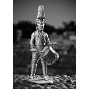 Барабанщик гренадерского взвода батальона Императорской милиции. 1806-1808 гг. 474 РТ
