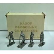 """Набор """"Вторая мировая война, Японцы"""" № 26 (4 н/к) в фанерной коробке"""