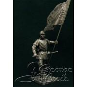 Европейская пехота, конец 15 века. Знаменосец Йорка 5341 ТС (н/к)