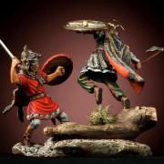 Поединок римского легионера с кельтом К-02
