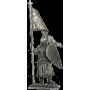 Русский дружинник со стягом, 13 век М244 ЕК (н/к)