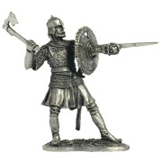 Русский воин с тарчем, 16-17 вв. М23 ЕК (н/к)