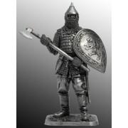 Русский воин с топором, 14 век M274 ЕК (н/к)