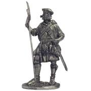 Шотландский воин, конец 17-нач.18 вв. М14 ЕК (н/к)