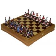 Шахматы с оловянными фигурками Ватерлоо арт.3.3