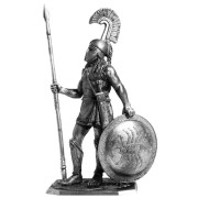 Спартанский гоплит, 480 год до н.э. A208 EK (н/к)