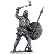 Викинг с копьём и топором, 9-10 вв. М219 ЕК (н/к)