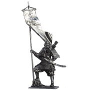 Японский воин-монах с флагом, 1185 год М183 EK (н/к)
