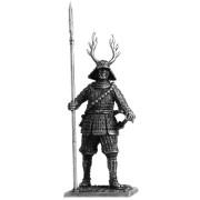 Самурай с копьём яри, 1600 год М128 EK (н/к)