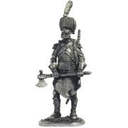 Сапёр лёгкой пехоты  Франция, 1809-13 гг. N60 EK (н/к)