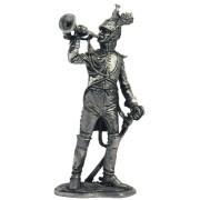 Трубач гвардейских драгун. Франция, 1806-13 гг. N46 EK (н/к)