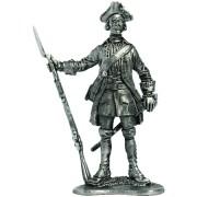 Фузелёр армейской пехоты. Россия, 1732-42 гг. R26 EK (н/к)