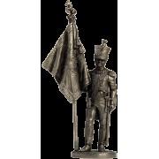 """Офицер-знаменосец 5-го линейного полка """"Реал Калабрия"""". Неаполь, 1811-12 гг. NAP-19 ЕК (н/к)"""