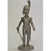 Офицер гвардейских гренадеров. Вестфалия, 1809-10 гг. Nap-33 ЕК (н/к)