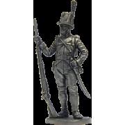 Рядовой пехотного полка Адлеркройца. Швеция, 1809 г NAP-53 ЕК (н/к)