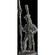 Рядовой гвардейских улан. Франция, 1809-13 гг. N59 EK (н/к)