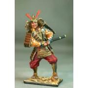 Самурай хватается за меч, 12 век М172 EK (с)