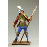 Швейцарский пеший воин, 15 век M169 ЕК (с)
