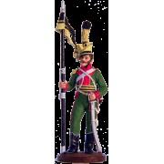 Рядовой 1-го уланского полка Мерфельдта. Австрия, 1805-15 гг. NAP-8 ЕК (с)