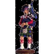 Волынщик 92-го (Гордона) шотландского полка. Великобритания, 1815 г. NAP-4 ЕК (с)