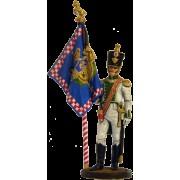 """Офицер-знаменосец 5-го линейного полка """"Реал Калабрия"""". Неаполь, 1811-12 гг. NAP-19 ЕК (с)"""