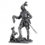Германский кавалерист с собакой, 16в M127 ЕК