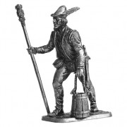 Артиллерист с банником и ведром. Зап. Европа, 15 век M267 ЕК